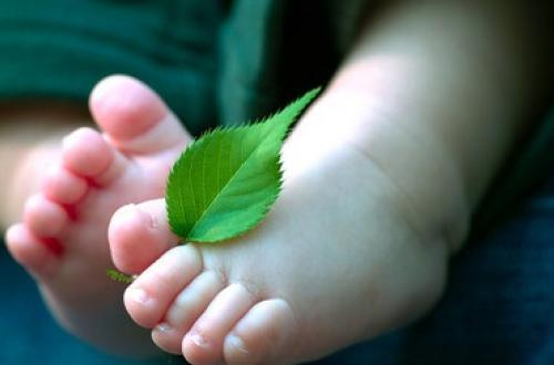对于宝宝的脚丫为什么会这么有味道呢?(图文)